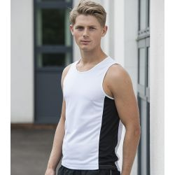 Men Cool Contrast Vest