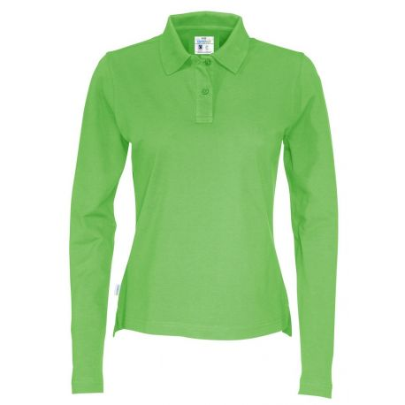 Fairtrade Ekologisk Polo Pikéskjorta Lady Long Sleeve