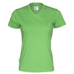 Fairtrade Ekologisk T-shirt Lady V-neck