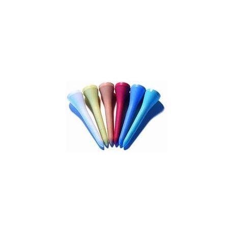 Miljövänliga golfpeggar 70 mm