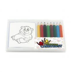 Färgset för barn